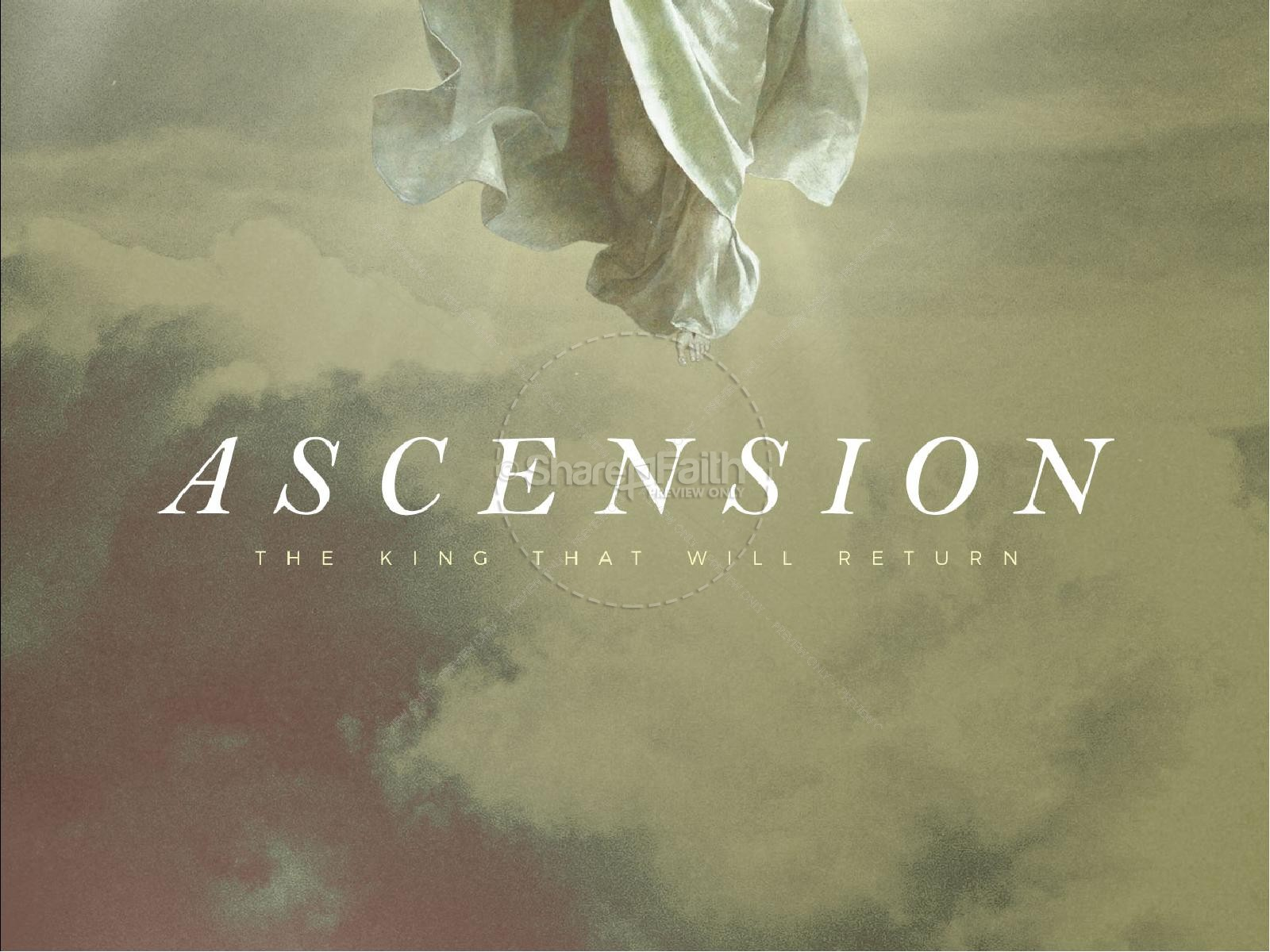 Ascension Day Clouds Church PowerPoint