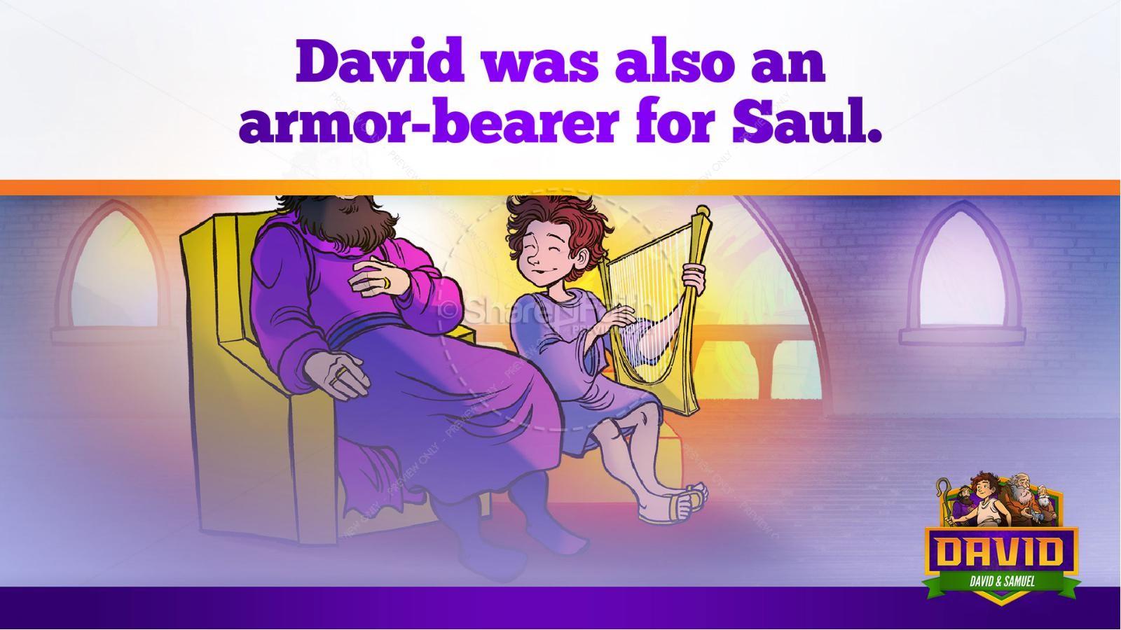 1 Samuel 16 David and Samuel Kids Bible Story | slide 36