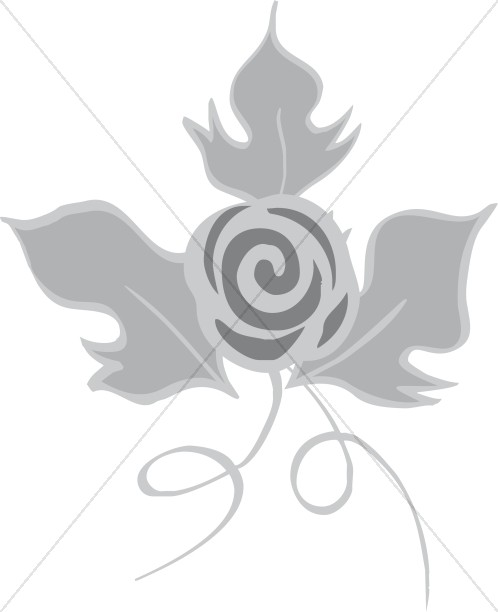 Decorative Rose Flower
