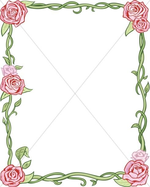 Full Rose Frame