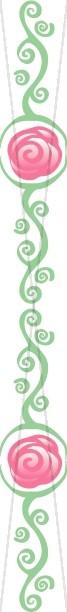 Rose Symbol with Vines Side