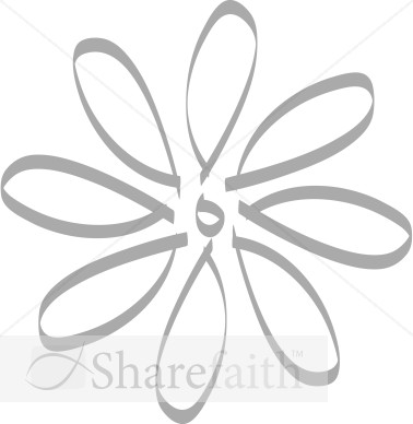 Twirling Flower Petals Design