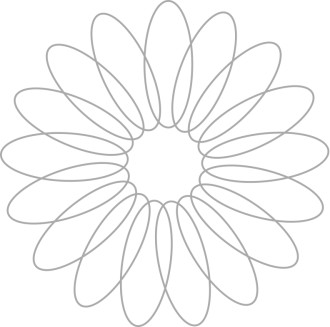 Spiral Flower Petal Design