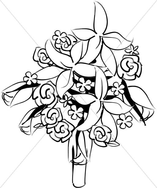 Altar Flower Bouquet