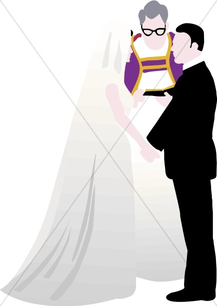 Couple Taking Vows