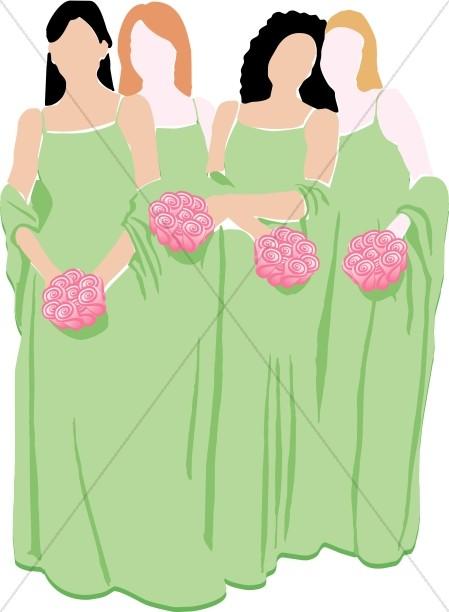Maids of Honor Entourage