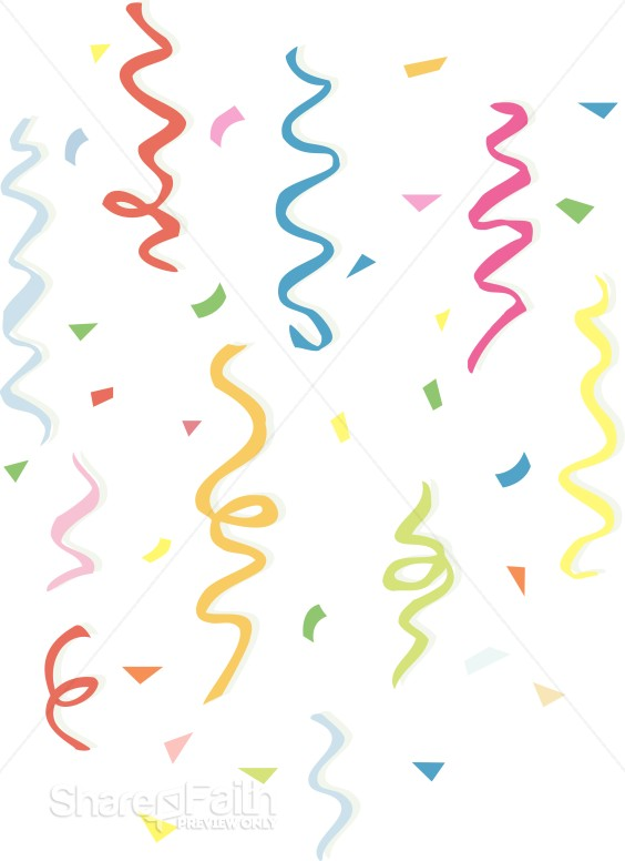 Ribbons and Confetti