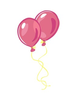 Colorful Pink Balloons