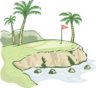 Island Golf Scene