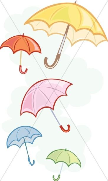 Wedding Shower Umbrellas