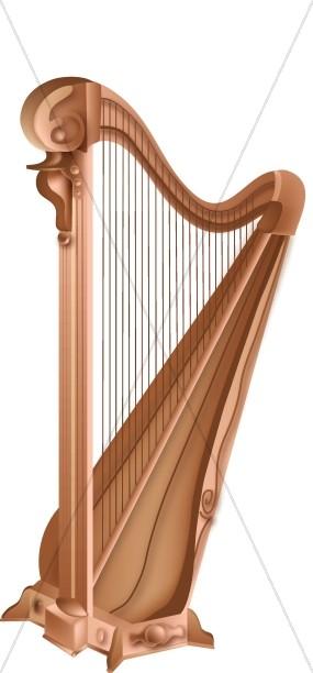Wooden Harp