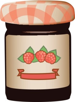 Jar of Raspberry Jam