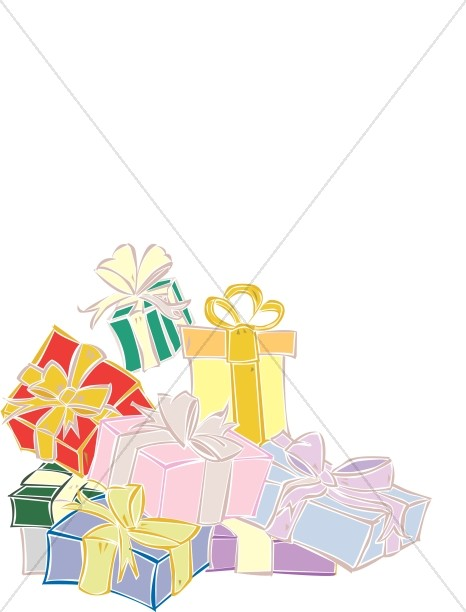 Gifts With Ribbons