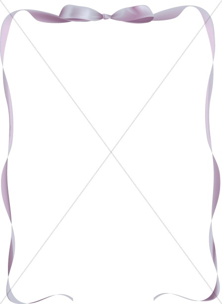 Purple Party Ribbon