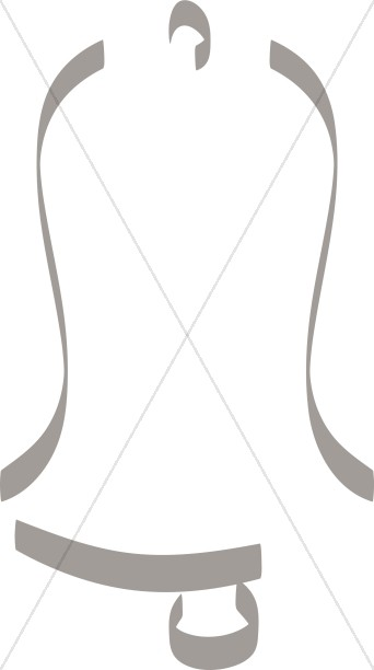 Tall gray line Bell