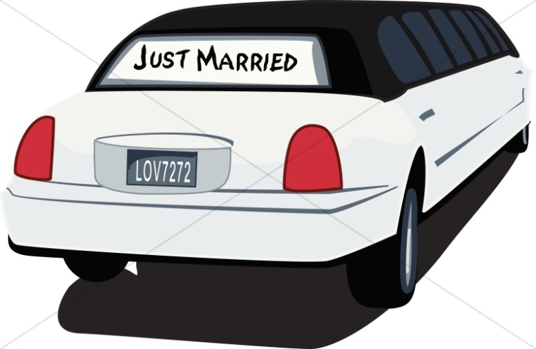 Just Married Getaway Limo