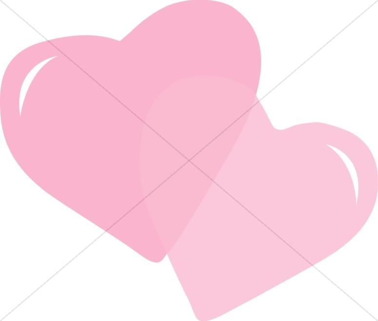 Pink Stylized Hearts
