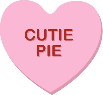 Cutie Pie Valentine Heart