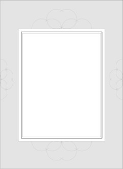 Gray Border with Circular ACcents