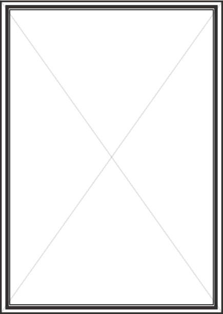Heavy Line Bulletin Frame