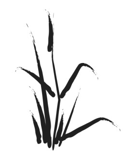 Brushstroke Lily of the Valley