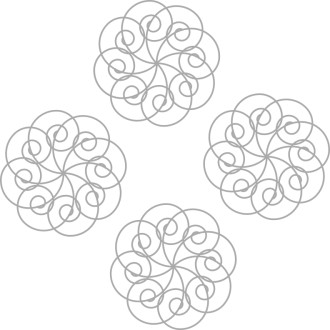 Four Spiral Motifs
