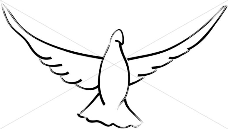 Open Wings Dove