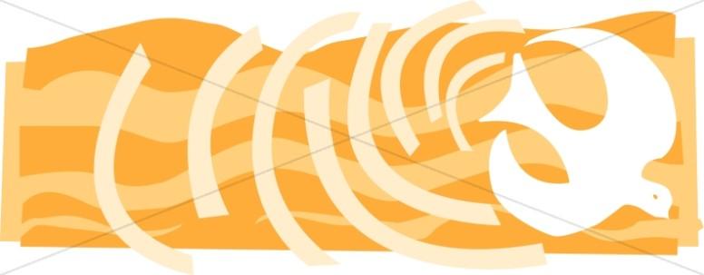 Pentecost Gold Dove Banner