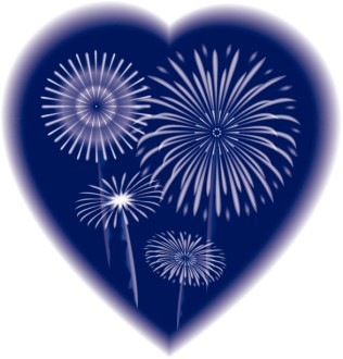 Fireworks in a Heart
