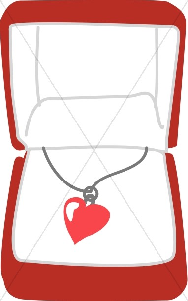 Heart Necklace in a Box