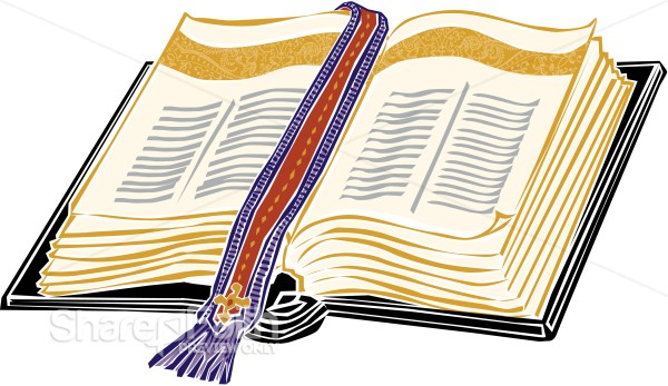Gold Bible with Elegant Bookmark