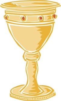 Gold Jewelled Chalice