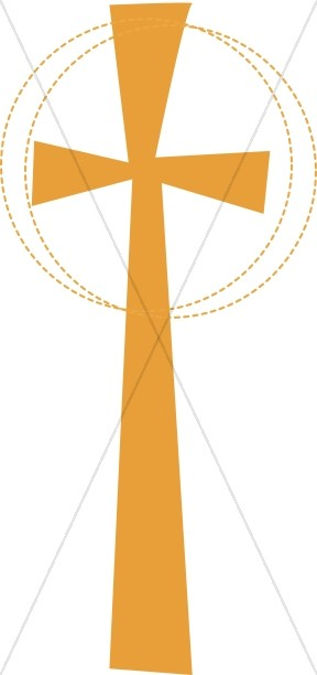 Gold Glory Cross