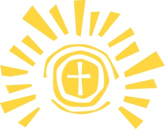 Gold Sun Cross