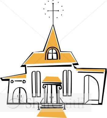 Joyful White and Yellow Church