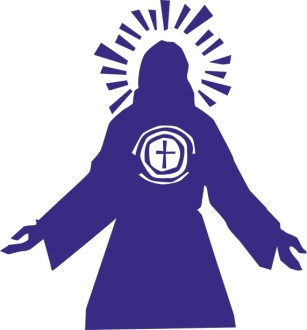Jesus with Cross Symbol