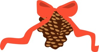 Holiday Pine Cone