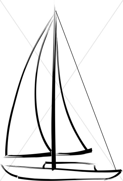 Sailboat for the Lake