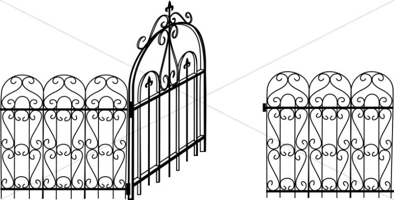 Open Inviting Gate