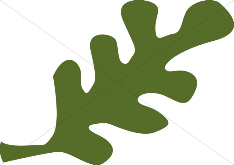 Abstract Green Foliage