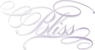 Fanciful Purple Bliss Script