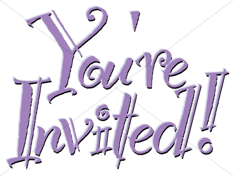 Whimsical Outlined Invitation