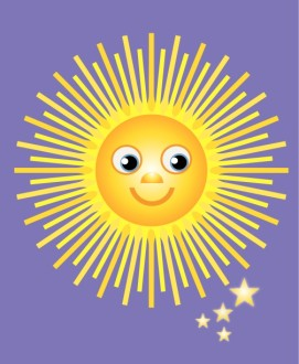 smiling sun