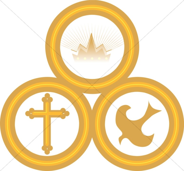 The Trinity in Golden Rings