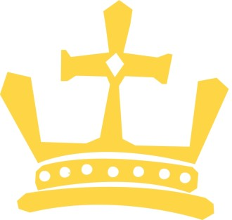Golden Crown with Gems