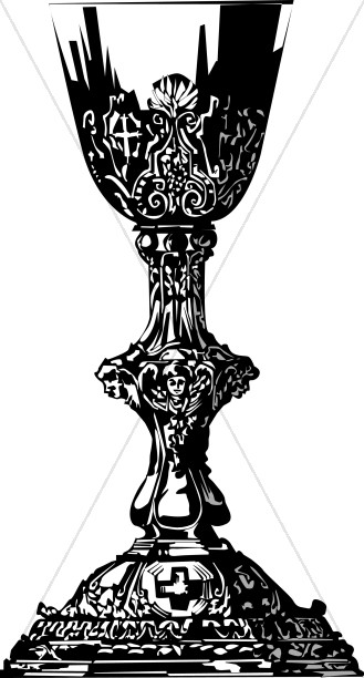 Gothic Chalice In Black
