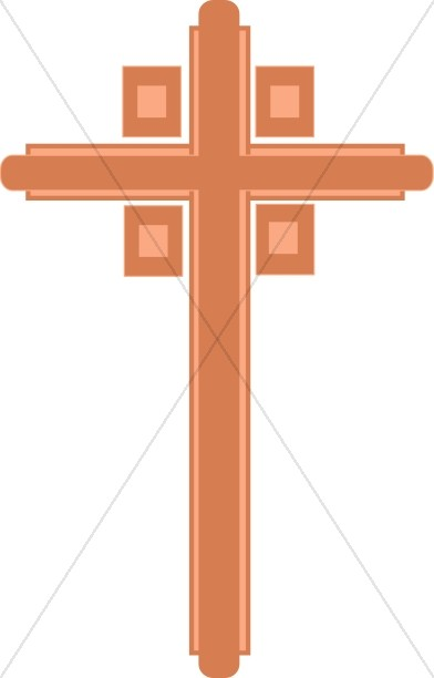 Cross with Four Squares