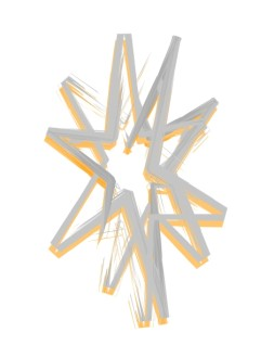 Abstract Star Design