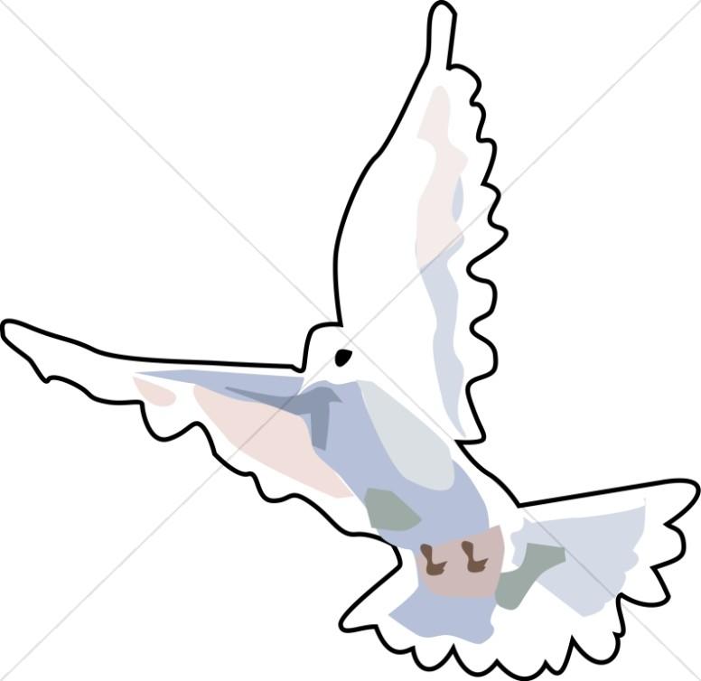 Flying Dove Art