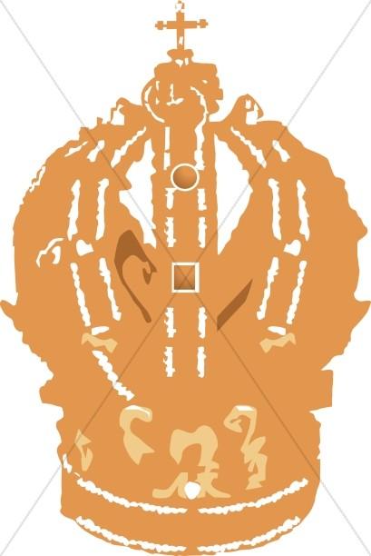 Golden Papal Tiara